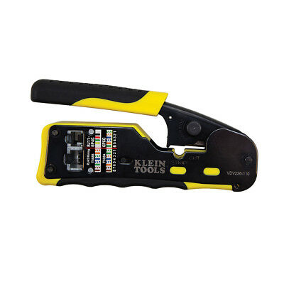 Klein Tools Vdv226-110 Pass-thru Modular Crimper