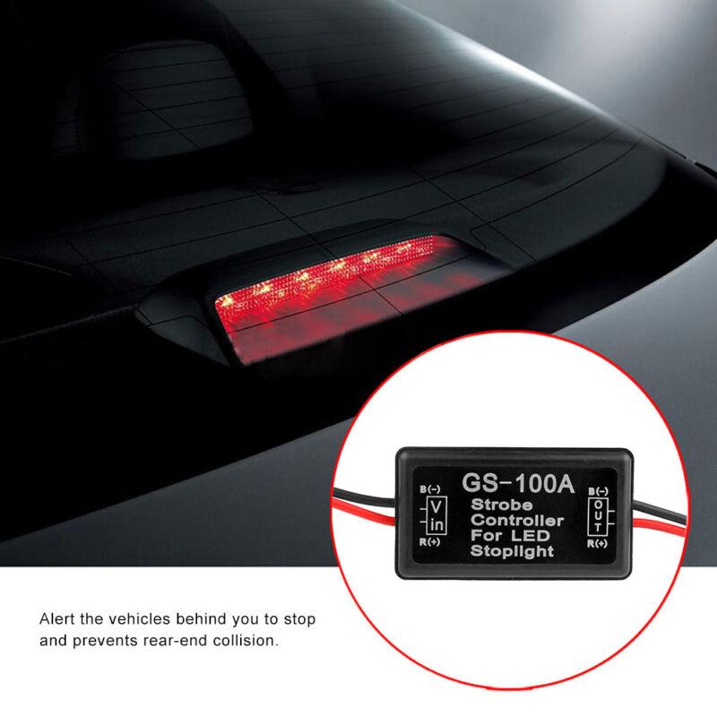Details about Car Strobe Controller Brake Light Flasher Module Flashing  Back Rear Brake Light