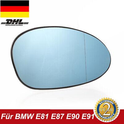 Rechts Asphärisch Beifahrerseite Spiegelglas für BMW 1er 2004-2010