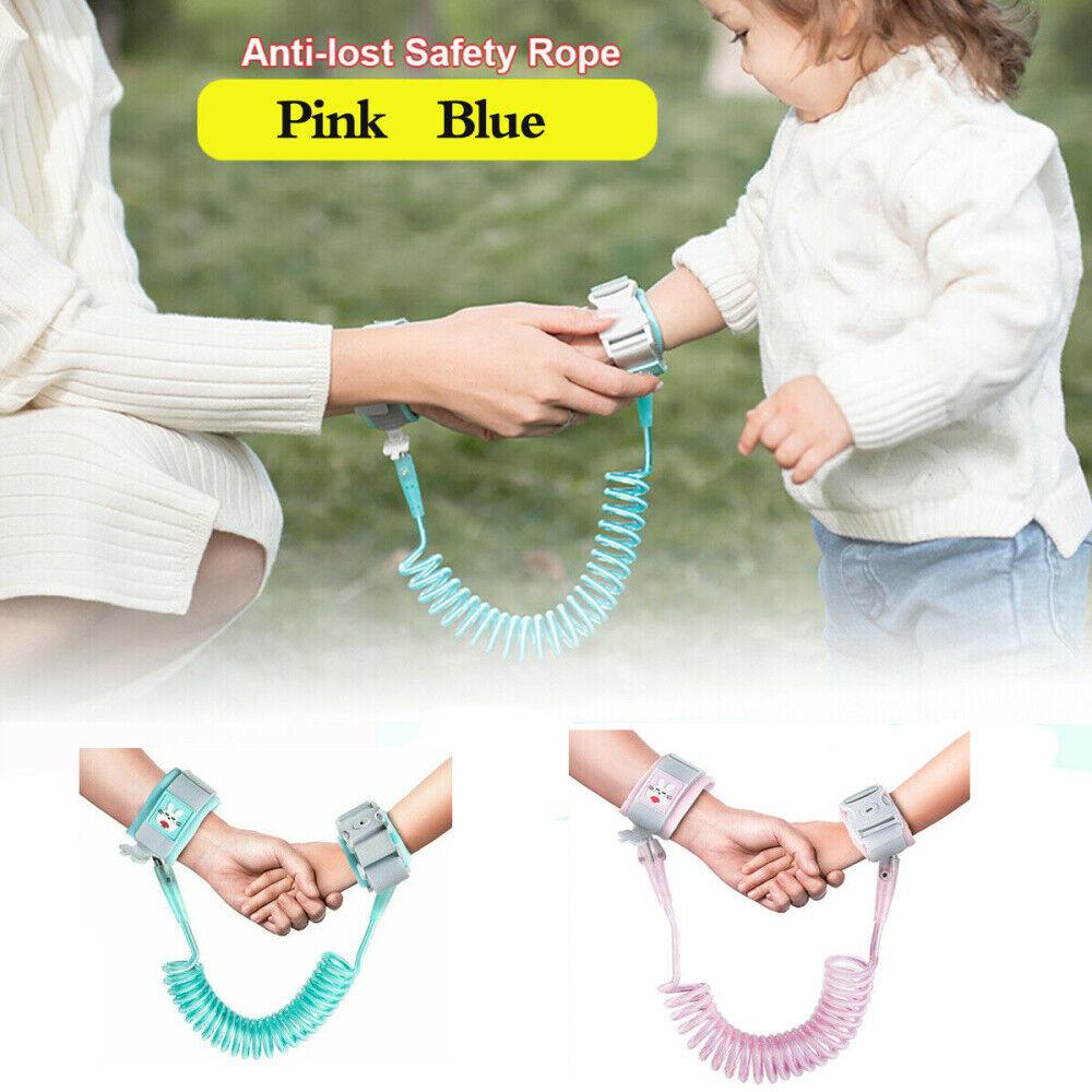 enfants bébés Nouveau Bracelet Lien Poignet Enfant Sécurité 5 couleurs Bébé Enfants