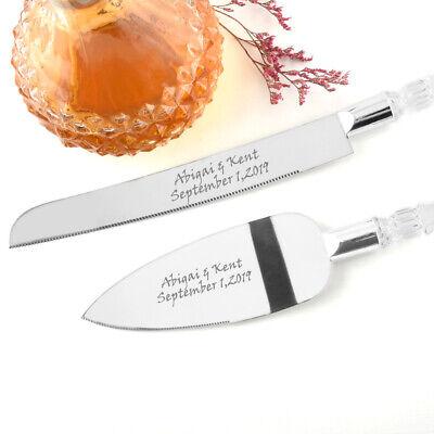 Cake Knife&Wedding Gift Keepsake&Custom Wedding Gift&Cake Cutting Set