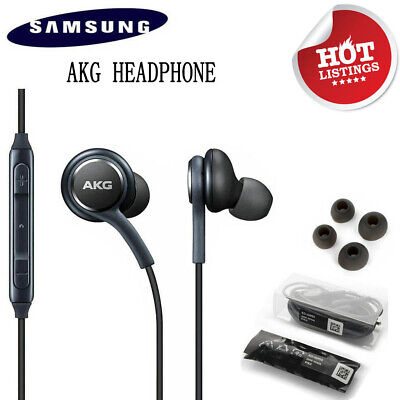 Original Samsung Galaxy S9 S8 S8+ S7+ Note 8 EarBuds Headphones Headset EO-IG955