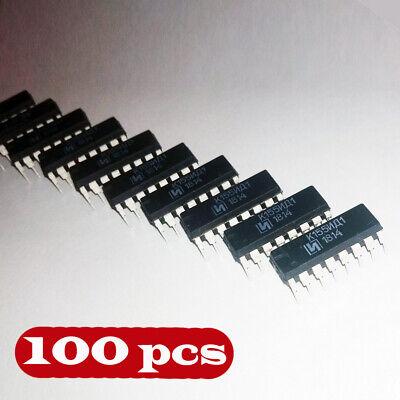 K155id1 100 Pcs Driver For Nixie Tubes Sn74141n Sn74141j 74141 New Chip