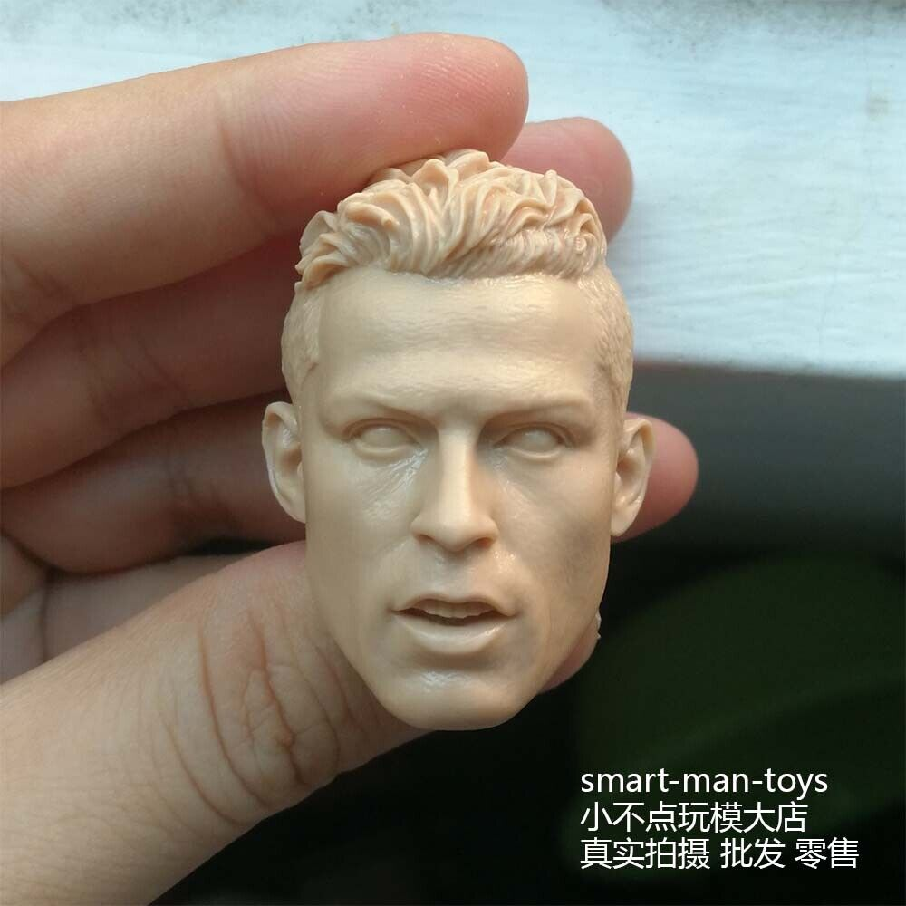 """Free Shipping 1//6 scale Custom blank Head Sculpt Stallone unpainted for 12/"""" FG"""