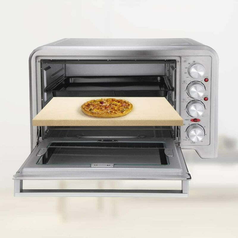 """15""""Pizza & Stone 5/8"""" Extra Thick Oven/Grill/BBQ Pizza"""