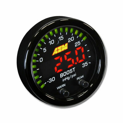 New AEM X-Series Boost Pressure Display Gauge 30-0306 *UK STOCK*