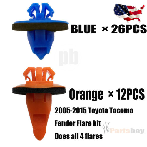 Fender Flare Retainer Clip Fit for 2005-15 Toyota Tacoma 75495-35010 75397-35010