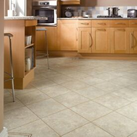 Karndean Knight tile Soapstone LVT floor tiles 6.64sqm