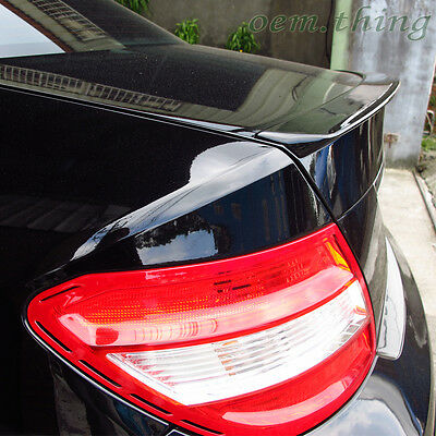 STOCK USA PAINTED MERCEDES BENZ W204 4D A LOOK TRUNK SPOILER C350 #040