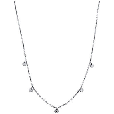 Gorjana 5 Disc Silver Choker Necklace 165110S