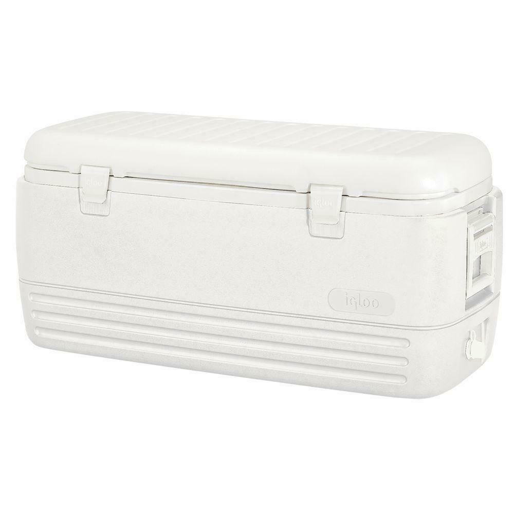 Large Igloo Cooler 120 Qt Quart Max Cold Ice Chest Insulated