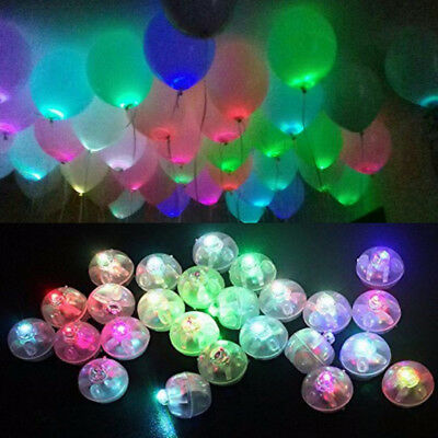 2/10pcs LED Balloons Light Up Balloons PARTY Decoration Wedding Birthday - Lighting Balloon