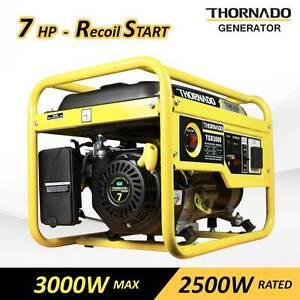 Thornado 3000W Portable Petrol Power Generator 100% Copper Chipping Norton Liverpool Area Preview