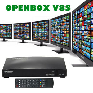 OPENBOX V8S Satellite Receiver FULL HD 1080P Freesat  PVR TV Box 100% Genuine