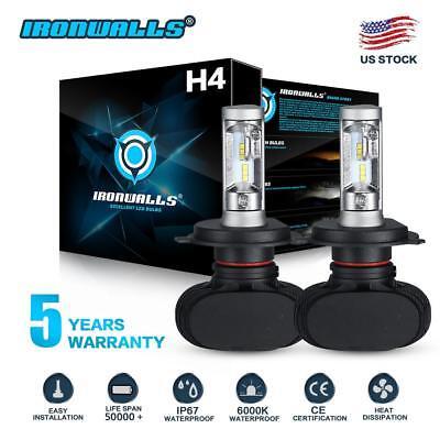 2X H4 9003 2100W 315000LM CSP LED Conversion Car Headlight Kit Hi/Low Beam 6000K