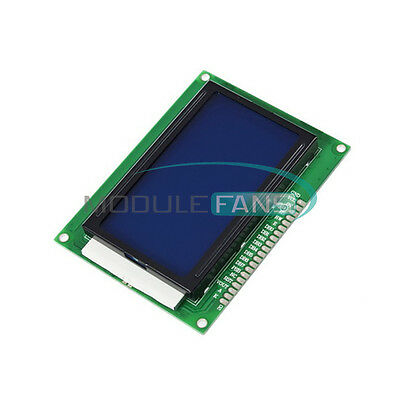 5v 12864 Lcd Display Module 128x64 Dots Graphic Matrix Lcd Blue Backlight M