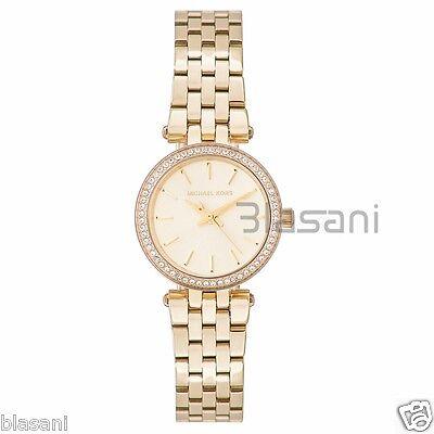 Michael Kors Original MK3295 Women's Petite Darci Gold Tone Stainless Ste Watch