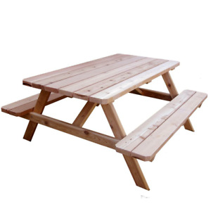 Wanted: Picnic table | Trade: 24 beer
