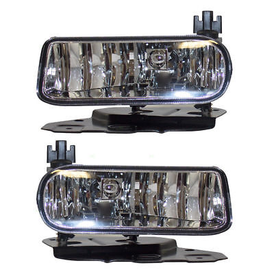 02-06 Cadillac Escalade Clear Fog Lights Pickup Truck EXT ESV