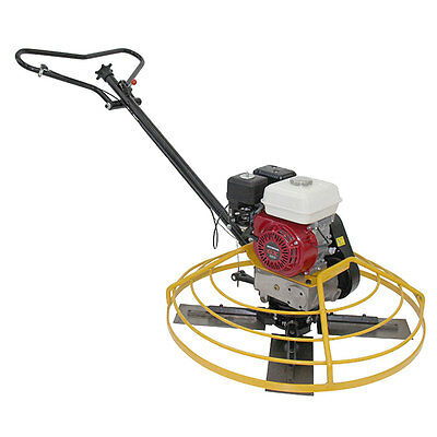 Power Trowel 36 With 6 Hp Engine Oil Alert Brand New Float Pan Included Teqmac