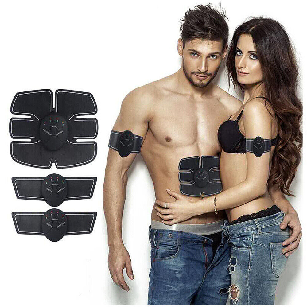 EMS Stimulator ABS Abdominal Muscle Trainer Toning Belt Smart Home Training 2020