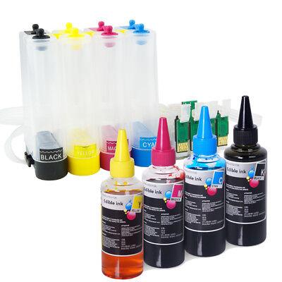 Empty CISS Edible Ink Bottle Set for Epson Expression XP-330 XP-340 XP-430 T288 for sale  Los Angeles