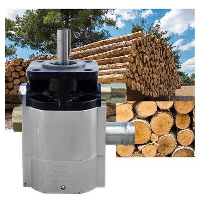 Brand Hydraulic 2 Stage Gear Pump 9 Gpm Log Splitter Hi Lo Low Log Splitter
