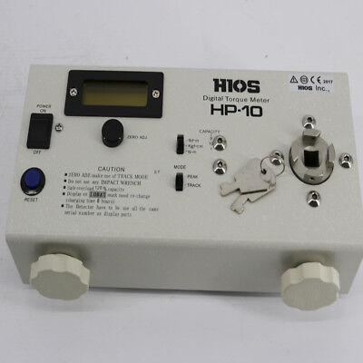 New High Quality Torque Meter Hios Hp-10 Digital Torque Meter Tester Gauge
