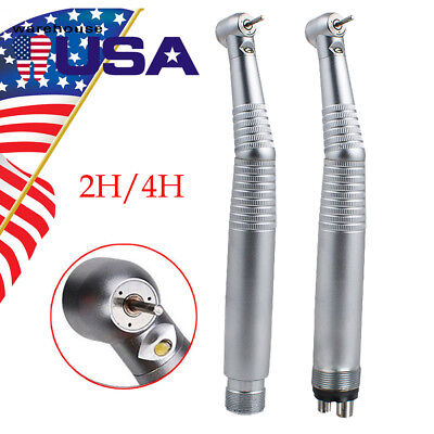 24 Hole Dental Led Air Turbine E-generator High Speed Handpiece 3spray Fit Kavo