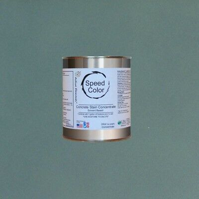 Fast Drying Concrete Paint 24oz Concentrate Yields 1 Gallon Silverlake Color