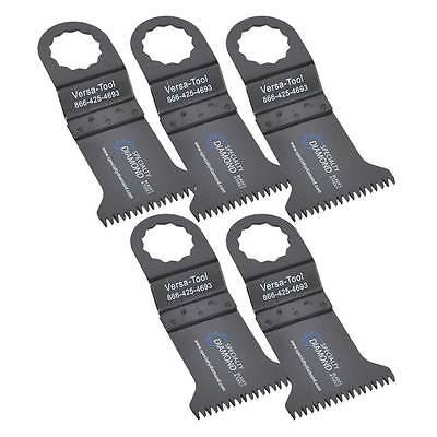 5 Wood Oscillating Multi Tool Saw Blades For Multimaster Craftsman Ridgid - Fb5c