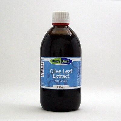 Olive Leaf Extract - 500ml - Antioxidants from Bob's Best Natural Health