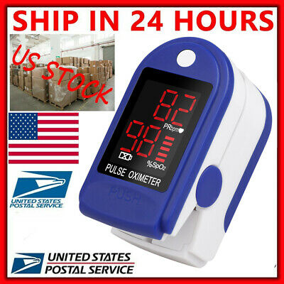 Us Oximeter Fingertip Pulse Oximeter Spo2 Meter Blood Oxygen Saturation Monitor