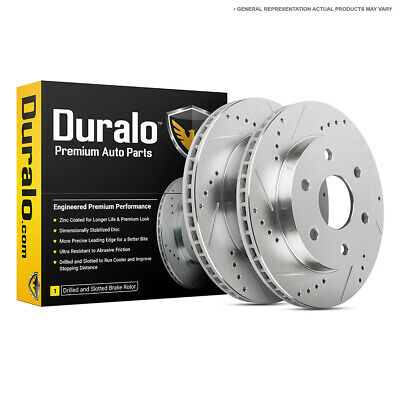 For Chevy Silverado Tahoe Suburban GMC Sierra Cadillac Rear Brake Rotors