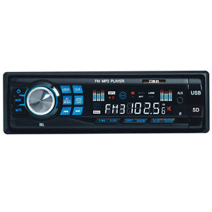 Car-Audio-Stereo-In-Dash-Fm-Receiver-w-Mp3-USB-SD-AUX-Receiver-AU-Stock