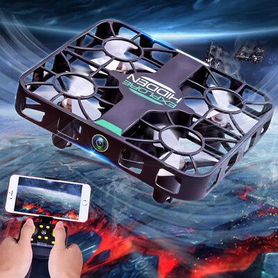 Helicopter Radio Remote Control Altitude Hold HD Camera RC Quadcopter Drone
