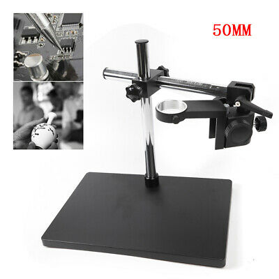 Heavy Duty Boom Large Stereo Table Stand 50mm Ring For Microscope Holder Usa