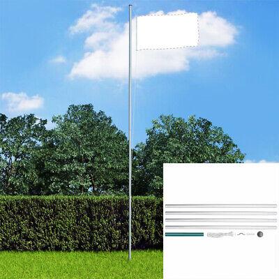 Sectional Flagpole Aluminium 6.2 m Outdoor Flag Pole Halyard Pole Kit with rope