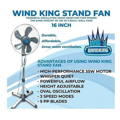 Wind King Pedestal Stand up Fan 400mm