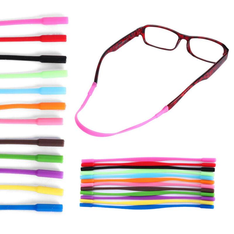 2x Kids Silicone Eyeglasses Sunglasses Glasses Strap Ear Hook Holder Set