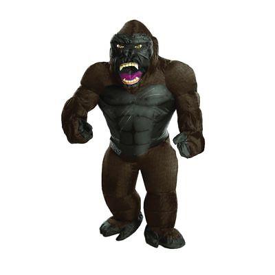 Rubies King Kong Aufblasbar Film Affe Kind Jungen Halloween Kostüm 630849