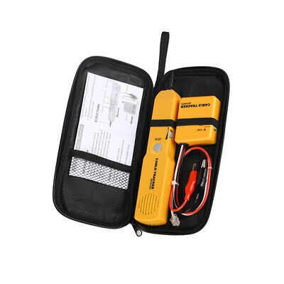 Network Wire Tester Tracker Telephone Line Cable Tracer Toner Lan Phone Rj11