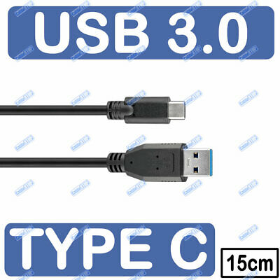 SHORT 15cm Sync & Charge Super Speed USB-C™ to USB A 3.0...
