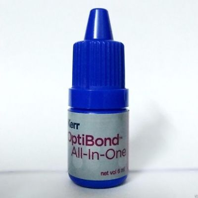 10 X Kerr Optibond All-in-one Self Etch Adhesive Bonding Agent 6ml