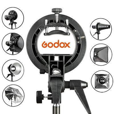 PRO Godox S-Typ Halterung Bowens Mount Halterung für Speedlite-Blitzvorsatz O8Q2