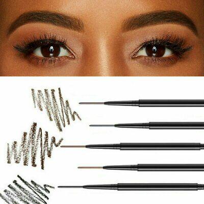 2in1 Waterproof Microblading Eye Brow Eyebrow Pen Pencil Slim Brush Makeup Tools Eyebrow Liner & Definition