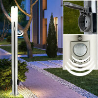 Exterior Socket Standard Light Sensor Garden Stand Lamp With Motion Detector - markenlos - ebay.co.uk