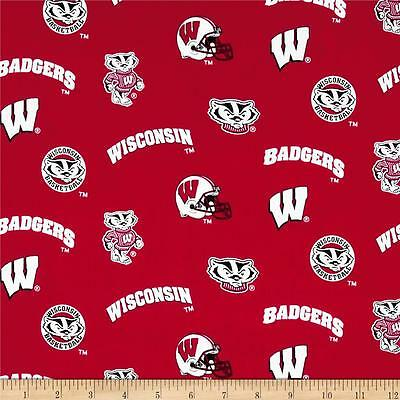 NCAA Wisconsin Badgers College Football  sports fabric lampshade ? College Football Fabric