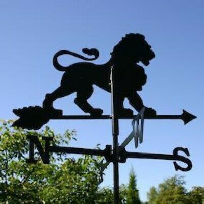 Standard Lion Metal Weathervane (Vertical Fixing Bracket)