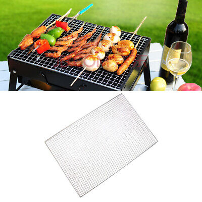 Stainless Steel BBQ Grill Grate Grid Wire Mesh Rack Cooking Replacement Net